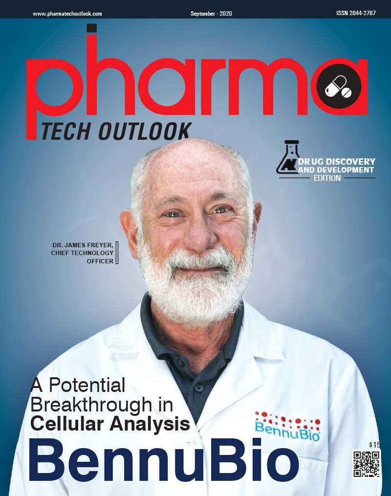 Phama Tech Outlook magazine cover